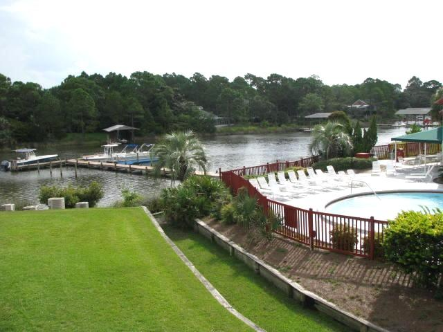 Pool area and Grand Lagoon