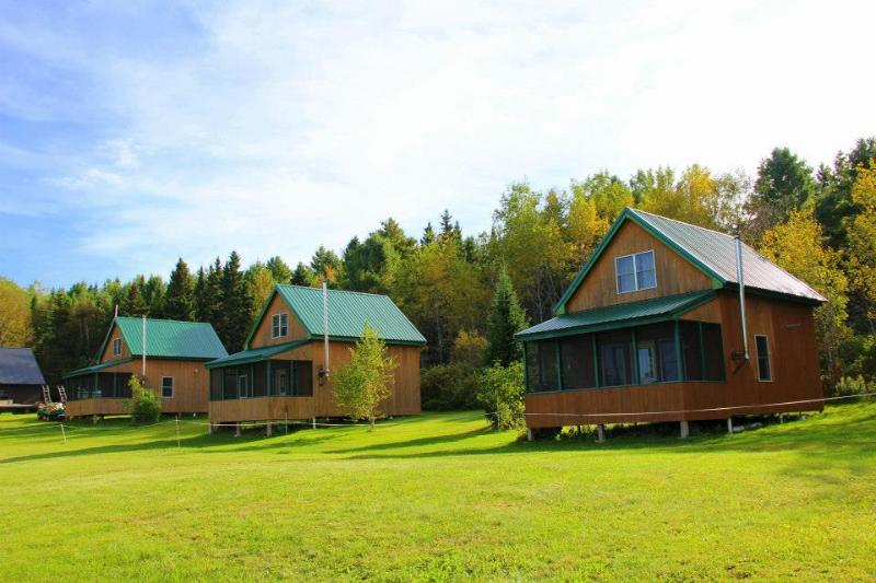 Fronnt view of cabins