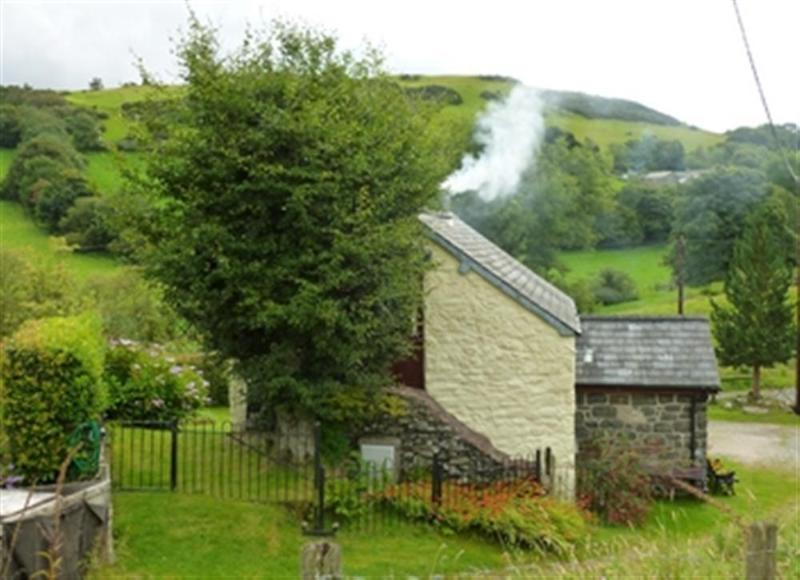 The cottage stands in a peaceful location in the heills (although there are a couple of neighbouring properties)