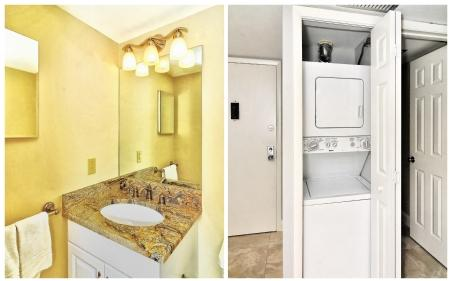Guest bathroom and W/D