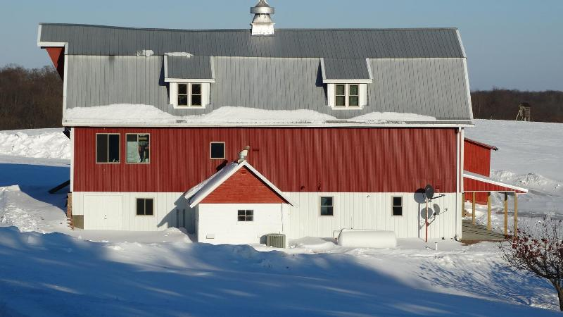 Original Norwegian barn was built in 1922 and remodeled by the Gallagher's in 2012