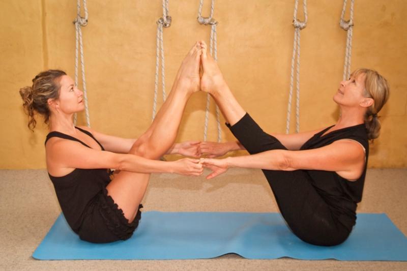 Iyengar Yoga studio next door