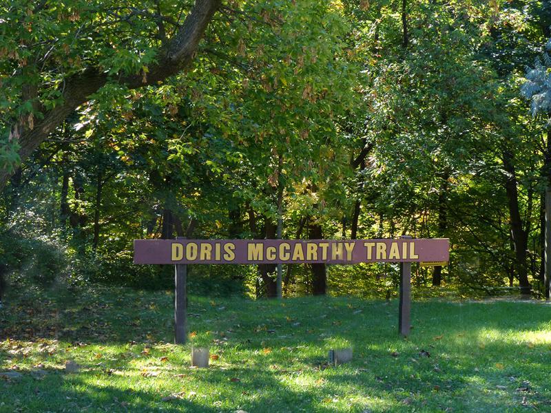 Hike the Doris McCarthy Trail to the Lake Ontario shoreline