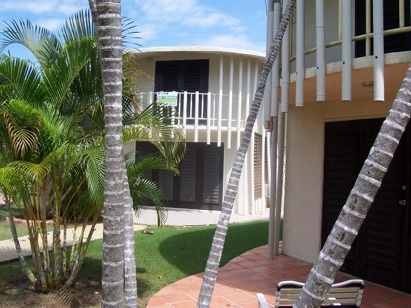 Villa back view.