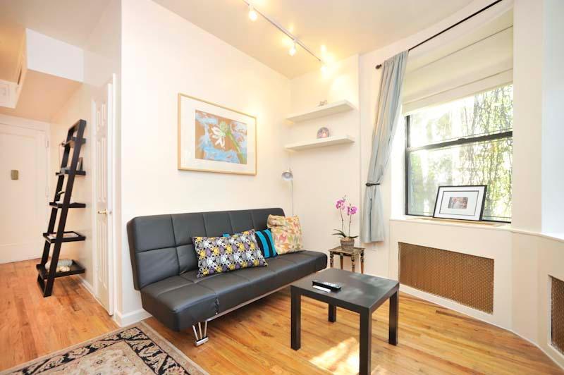 Full-size sleep sofa in Living Room Area