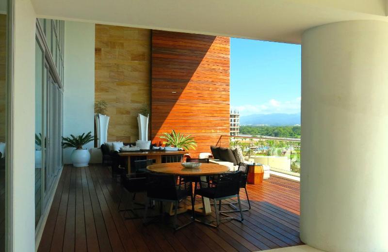Loft-Deck - Blick auf Wohnzimmer