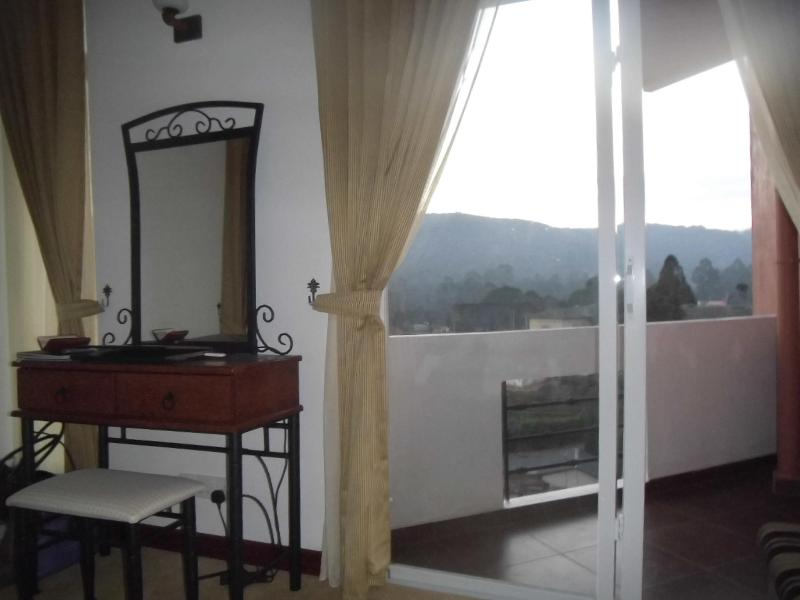 With a private balcony - En suite
