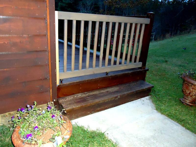 Una puerta especial para mantener a sus amigos de cuatro patas contenidas a la cubierta con usted
