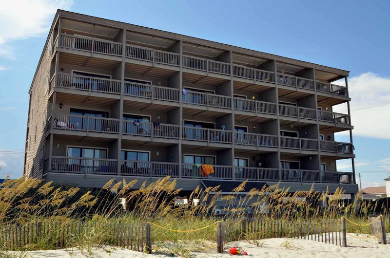 Resorts plage, Mystique de la mer / océan vue de face