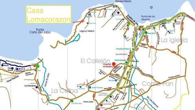 Map Las Terrenas
