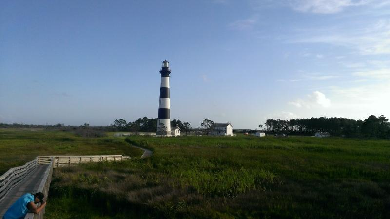 Bodie Island Lighthouse is less than a 10 minute drive!