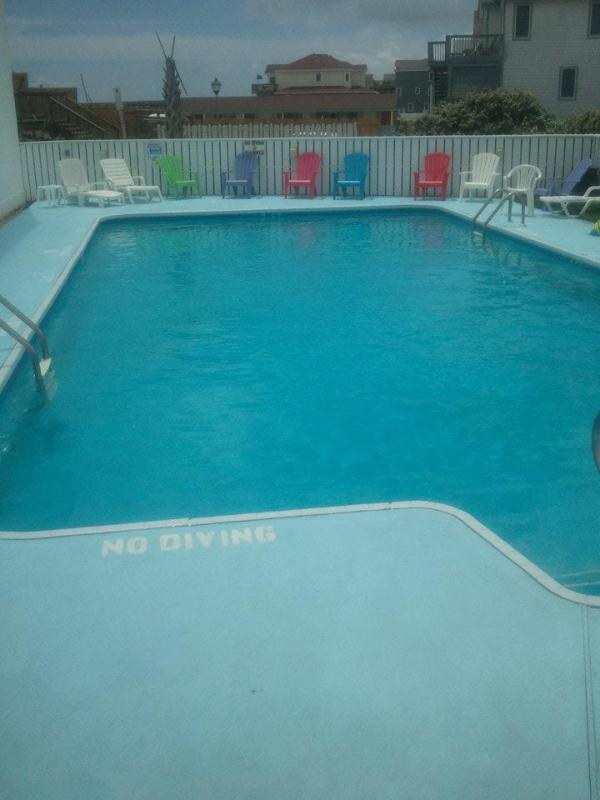 There are two pools onsite.