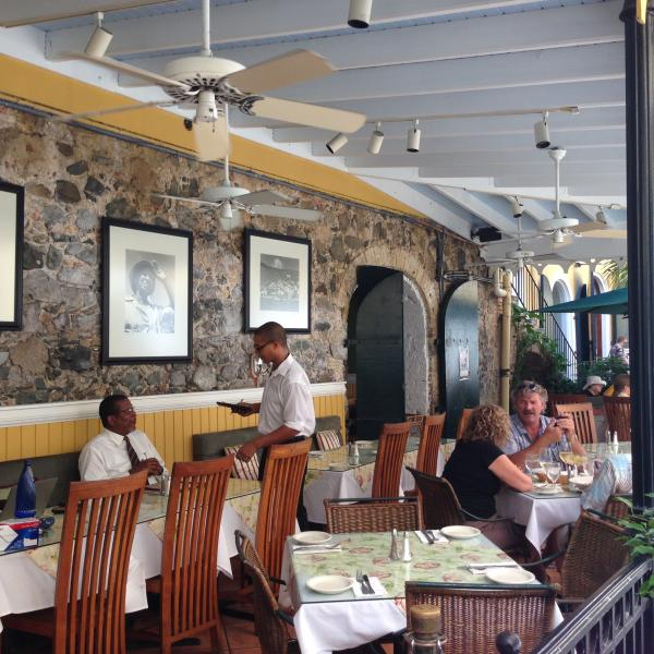 ...Cafe Amalia in Palm Passage serves Spanish cuisine with style...
