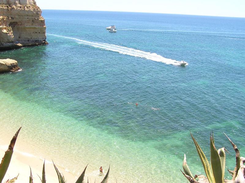 The beautiful Marinha's Beach