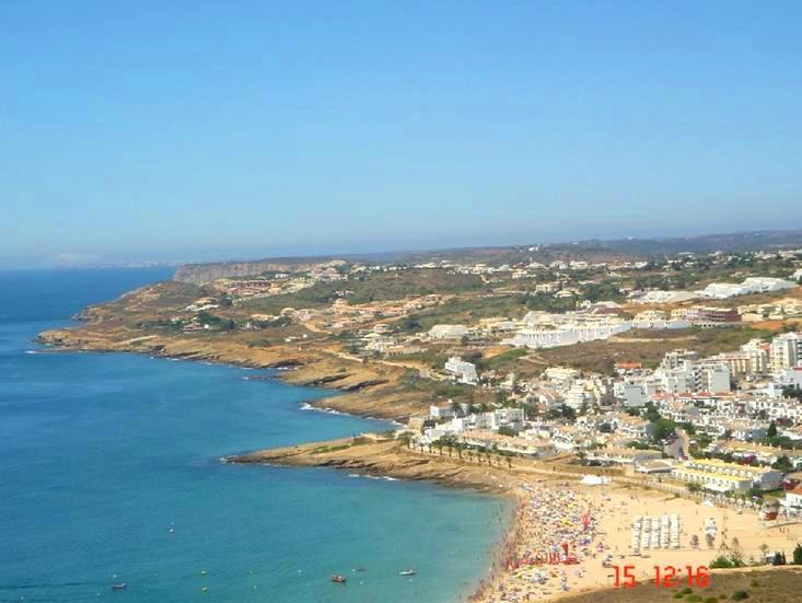 Praia da Luz - Beach overview