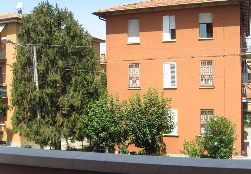 Nord vista dal balcone di fronte al