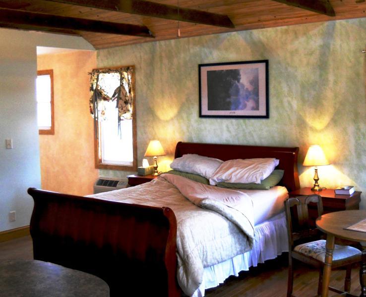 Romántica cama de trineo