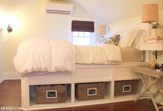 Dormitorio de arriba || cama Queen.