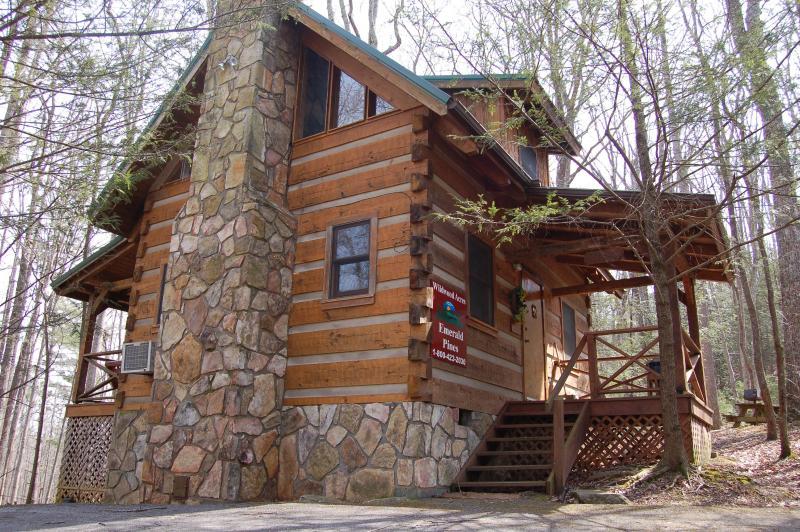 Smoky Mountain Honeymoon 'EMERALD PINES' Cabin, aluguéis de temporada em Cosby