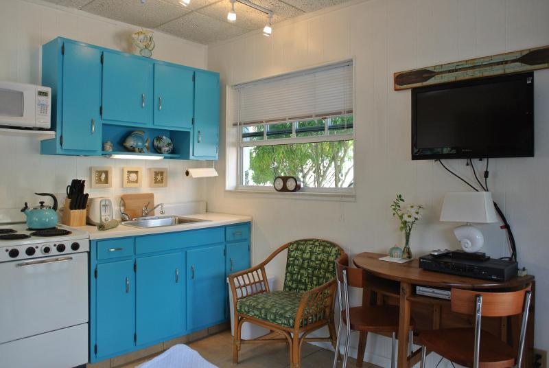 Dinette, and well equipped kitchen.