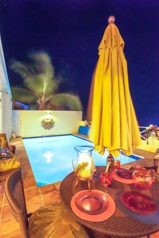 Another romantic tranquil evening at Bella Villa