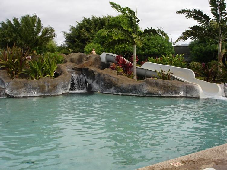 Kiahuna Pool with slide