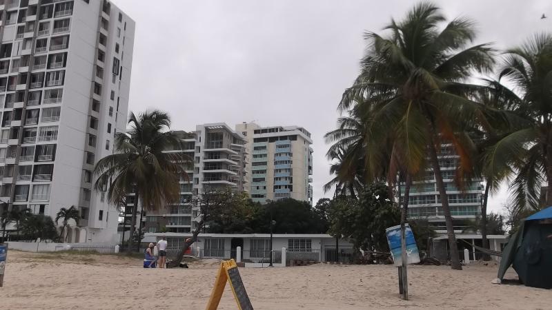 BEACH SIDE VIEW OF CONDO