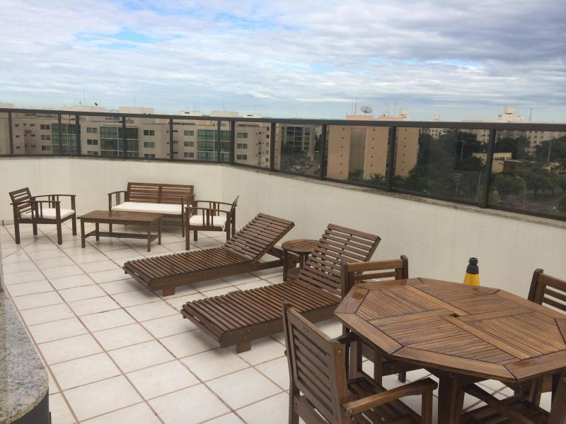 Penthouse apartment in Brasilia Brazil to World Cup, 3 miles distance from stadium, holiday rental in Riacho Fundo