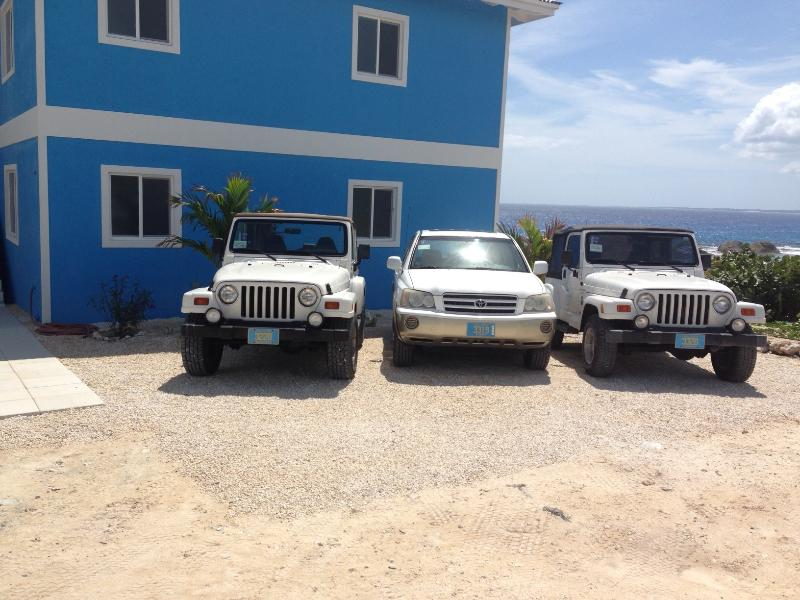 Jeep loaner included with Villa Rental