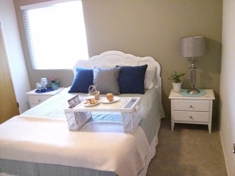 Terza camera da letto con letto matrimoniale
