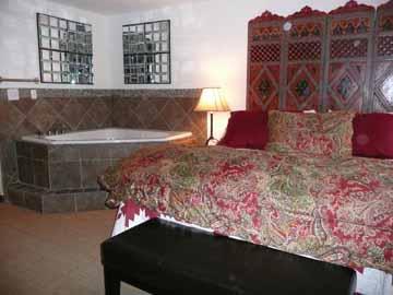 Jacuzzi tub in Master Bedroom