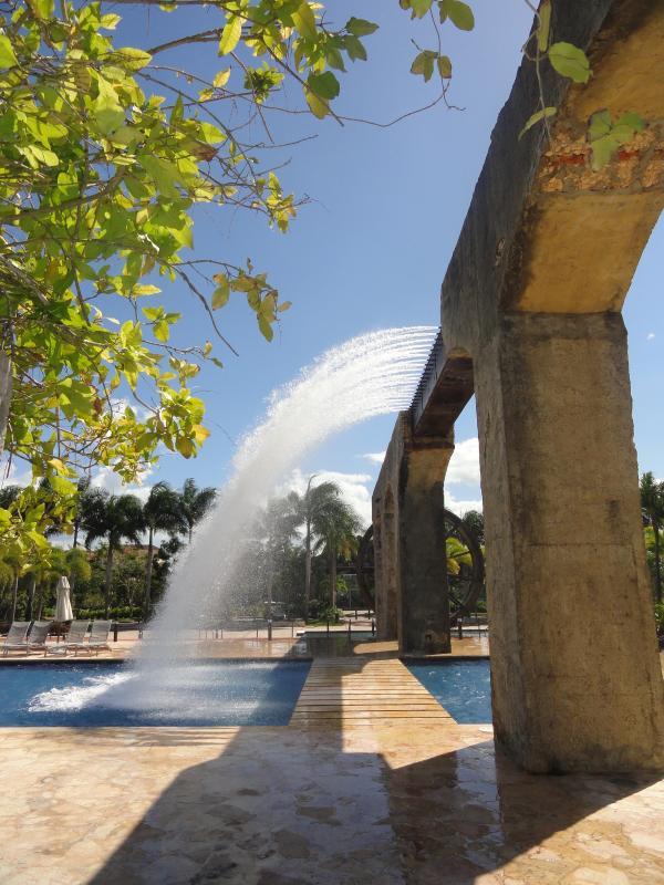 Waterpark entrance