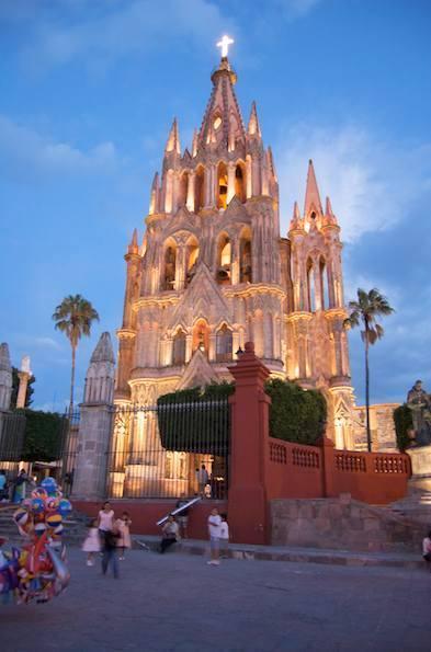 The Parroquia Church.