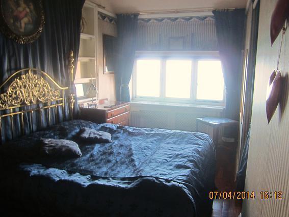 Dormitorio con vista.