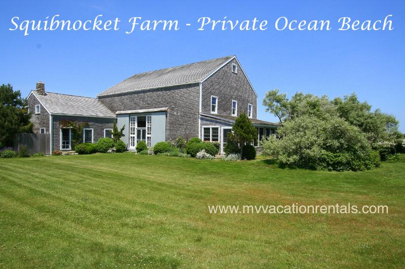 HORNP - Squibnocket Farm Waterfront, Private Beach,, Ferienwohnung in Chilmark