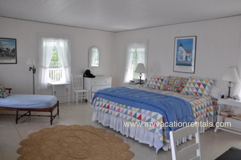 King bedroom in original wing of house