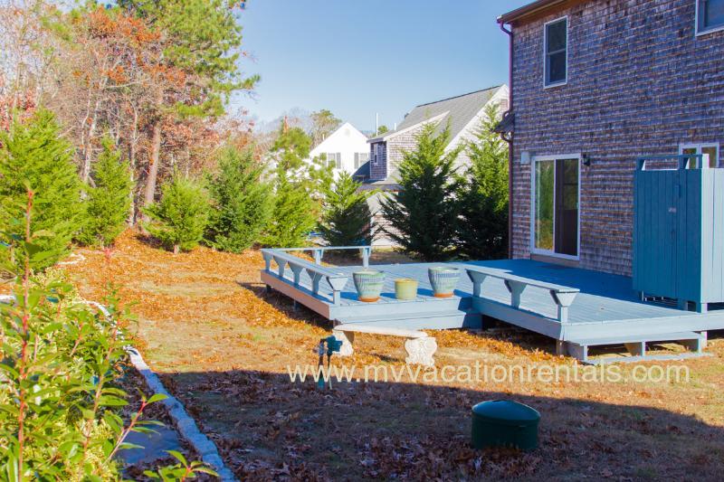 Deck (patio furniture in summer)