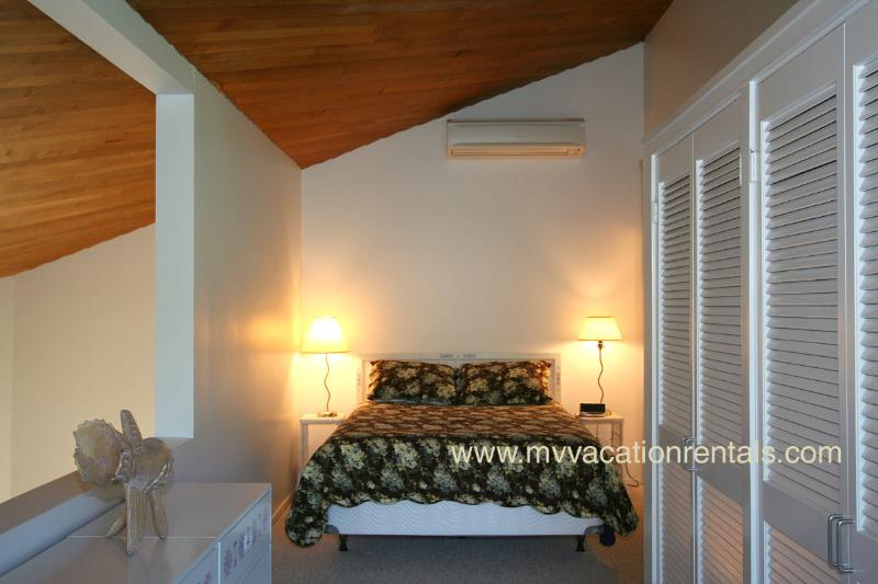Master Bedroom Loft with private sitting area and deck