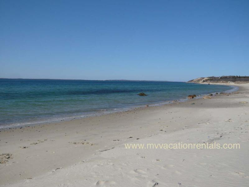 Stroll to Lambert's Cove Beach - just under a mile