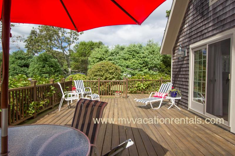 Large Private Deck with Dining