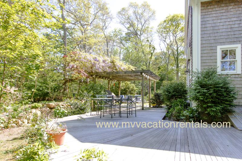 Expansive Deck Overlooking Private Yard