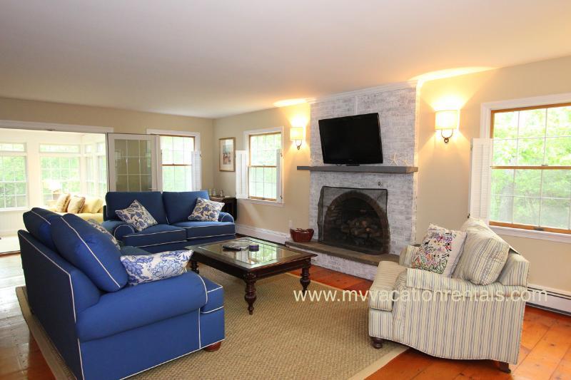 Livingroom Opens to Sun Porch