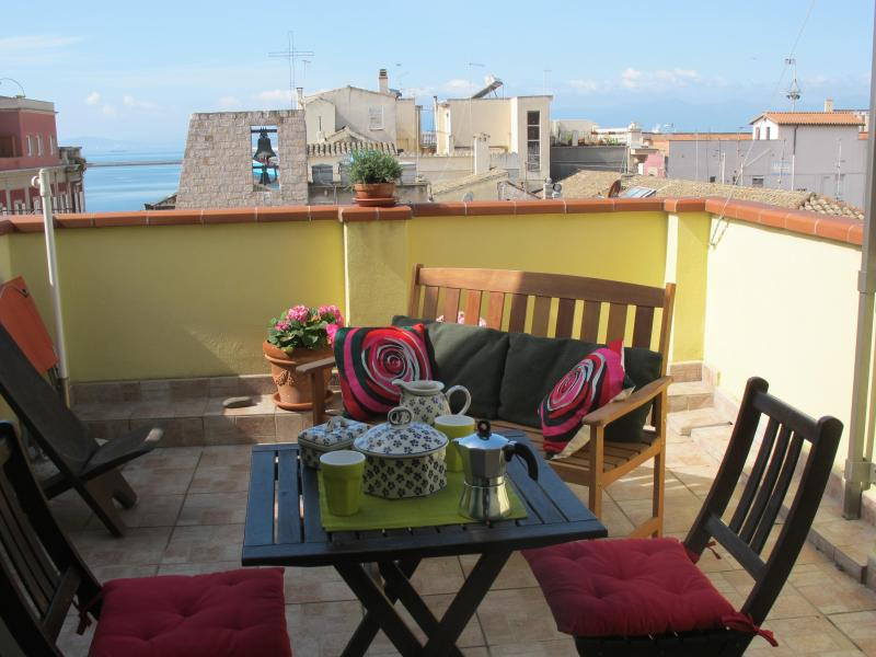Charming Apartment In A Building Of The 16th Century With Two Terraces, holiday rental in Isili
