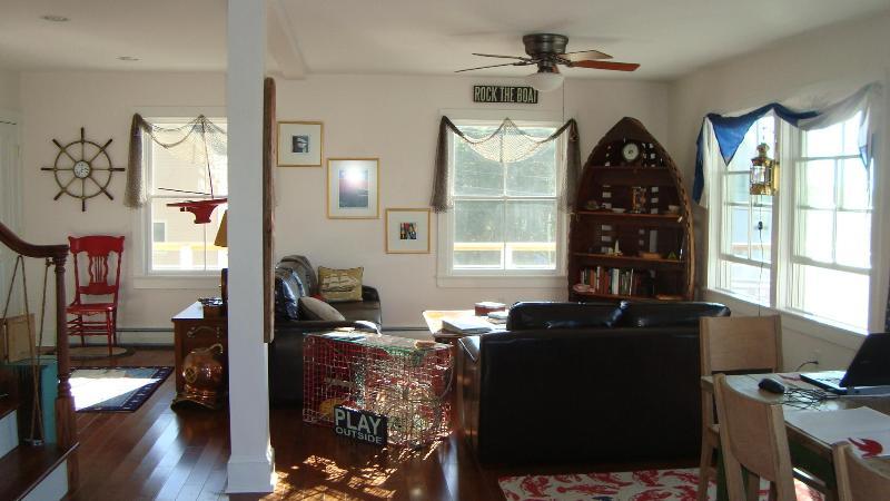 Main Floor - nautical touches throughout