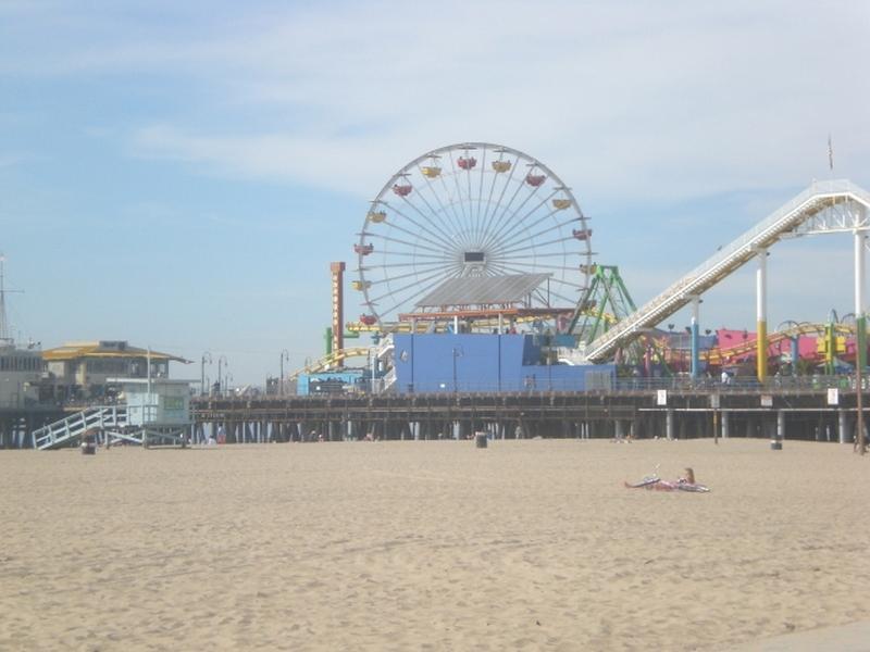 Santa Monica Pier Close By