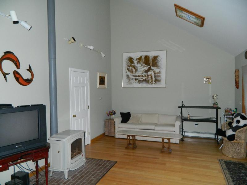 Sala de estar - vista do sofá