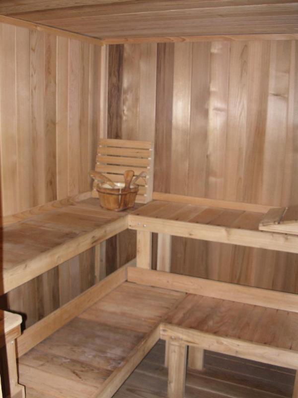 6-pessoa sauna