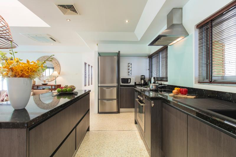 Well equipped Kitchen with everything you could need!