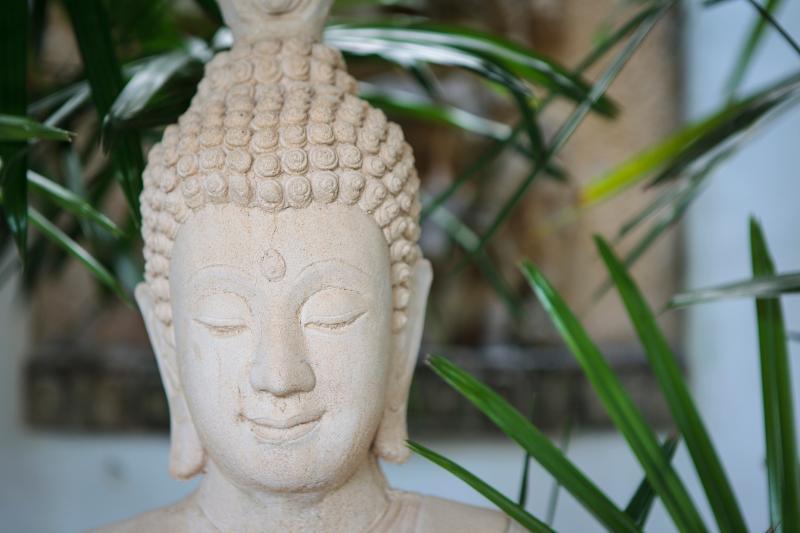 Our beautiful Buddha.