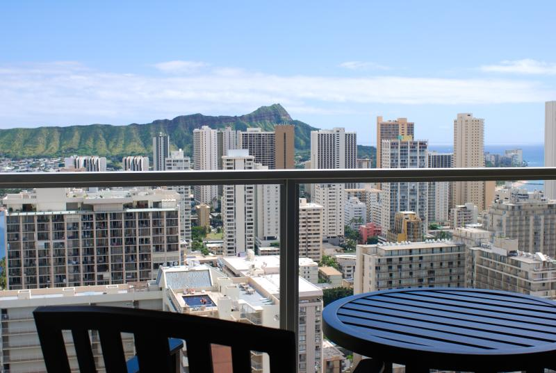 Panoramic Diamond Head View from the room.